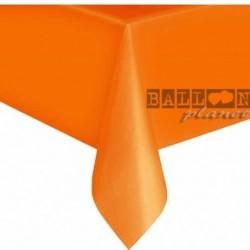 Tovaglia Plastica Arancio 137x274 cm