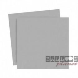 20 Tovaglioli Carta Argento 25x25 cm