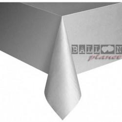Tovaglia Plastica Argento 137x274 cm