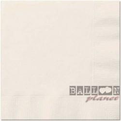 20 Tovaglioli Carta Avorio 33x33 cm