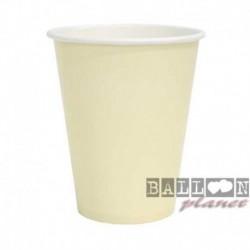 10 Bicchieri Carta Avorio 266 ml