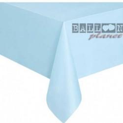 Tovaglia Plastica Azzurra 137x274 cm