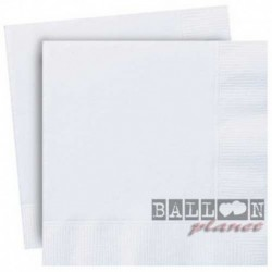 20 Tovaglioli Carta Bianchi 33x33 cm