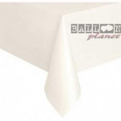 Tovaglia Plastica Bianca 137x274 cm