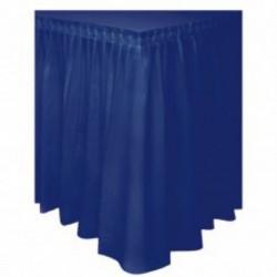 Gonna Plastica Blu Navy 74x420 cm