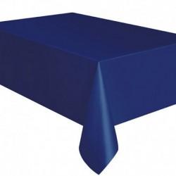 Tovaglia Plastica Blu Navy 137x274 cm