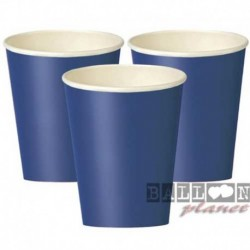 14 Bicchieri Carta Blu Royal 266 ml