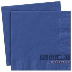 20 Tovaglioli Carta Blu Royal 33x33 cm