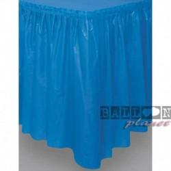 Gonna Plastica Blu Royal 74x420 cm