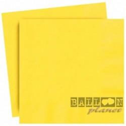 20 Tovaglioli Carta Gialli 33x33 cm