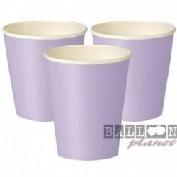 14 Bicchieri Carta Lavanda 266 ml