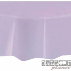 Tovaglia Plastica Tonda Lavanda 205 cm