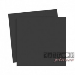 20 Tovaglioli Carta Neri 25x25 cm
