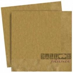20 Tovaglioli Carta Oro 33x33 cm