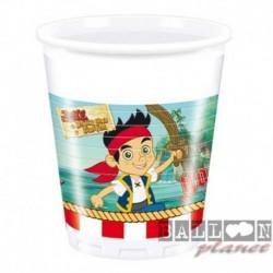 8 Bicchieri Plastica Jake 200 ml