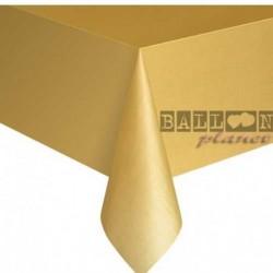 Tovaglia Plastica Oro 137x274 cm