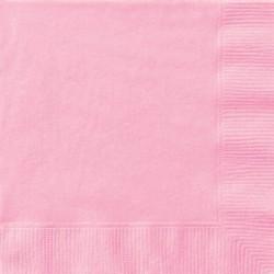 20 Tovaglioli Carta Rosa 33x33 cm