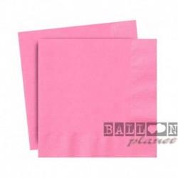 20 Tovaglioli Carta Rosa Hot 25x25 cm