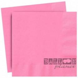 20 Tovaglioli Carta Rosa Hot 33x33 cm