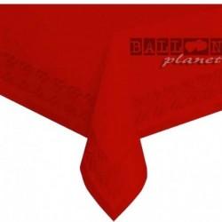 Tovaglia Carta Rossa 137x274 cm
