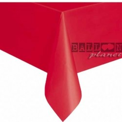 Tovaglia Plastica Rossa 137x274 cm